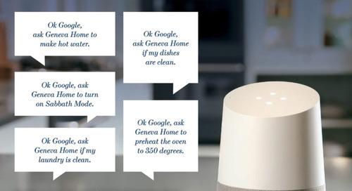 "Kitchen Tech Trends: We're Not Far from ""Alexa, Cook Me Dinner!"""