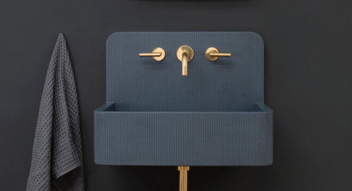 Kast Launches Collection of Patterned Concrete Basins Called Kast Canvas