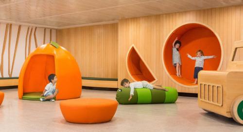 An Imaginative Kindergarten That Will Make Your Kids Love School