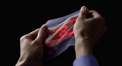 The Future of Wearables Is Elastic Electronic Skin