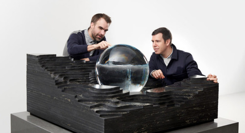Altered States: A Water-Inspired Take on the Kitchen Island by Snarkitecture + Caesarstone