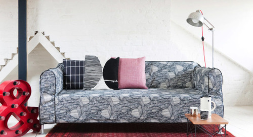 Tom Dixon Launches New Collection of Bemz Covers for IKEA's DELAKTIG