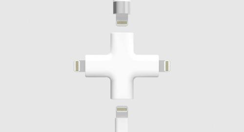 Depeche Node: An All-In-One Apple Lightning Charger