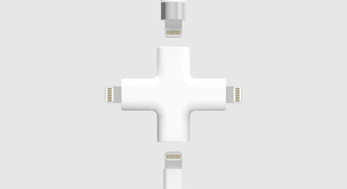 Depeche Node: An All-In-One Apple Lightning Charger
