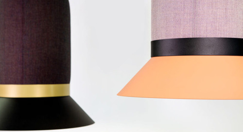BuzziHat: A Hat-Shaped Acoustic Lighting Collection by Alain Gilles for BuzziSpace