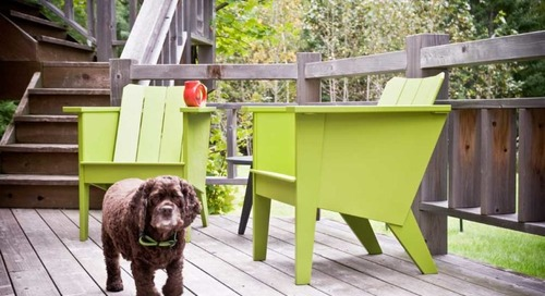 Brendan Ravenhill Expands Outdoor Furniture Collection with Loll Designs