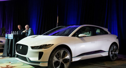 The Jaguar I-PACE Electrifies the Driving Experience