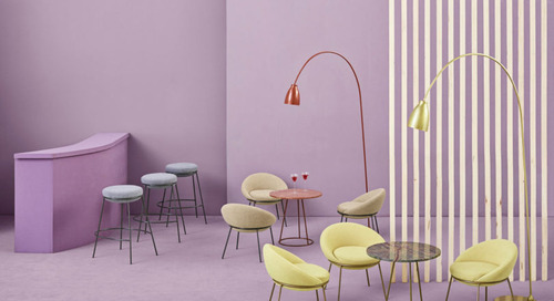 Nest Is a Curvy Collection of Seating by Paula Rosales for MISSANA