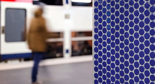 Metro, Boulot, (Chocolat) Dodo: Paris Train Station Tile Inspires Chocolate Bars