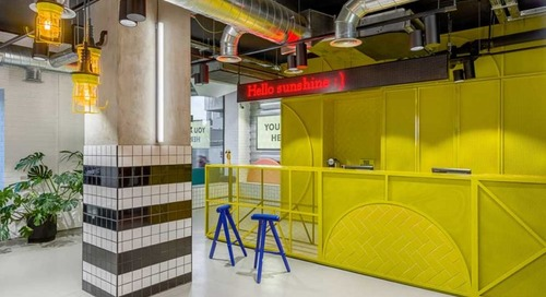 The Student Hotel: A Co-Living and Co-Working Concept by Masquespacio