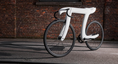 The Pi Bike Is a Fixed Gear Bicycle in the Shape of the Pi Symbol