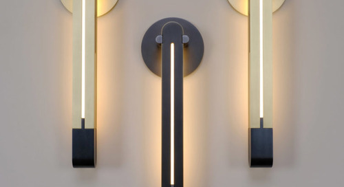 Torpedo Sconce Inspired by Vintage Levels from Skram