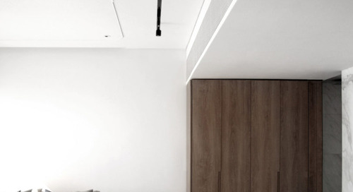 Unfolding Canvas Minimalist Apartment by OFGA