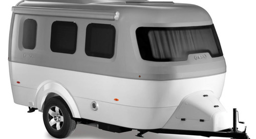 Nest by Airstream: A Modern Fiberglass Travel Trailer