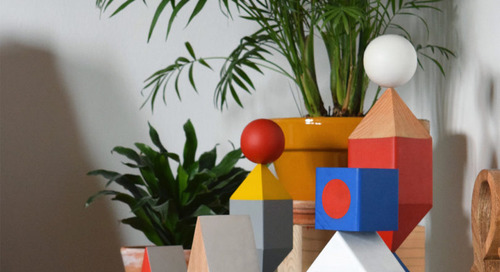 Objekts: A Collection of Modular, Geometric Wooden Sculptures