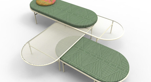 Marc Thorpe Presents DayTrip, an Outdoor Seating & Table System for Moroso M'Afrique