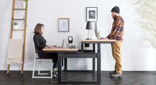 UHURU Adds to Their Minim Workplace Family with the MINIM RISE SIT|STAND