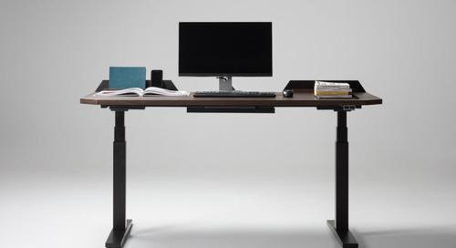 The UFO Lift Elevates Standing Desk Design