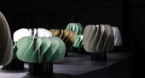 Horah: The Dance-Inspired Light Installation by Raw-Edges