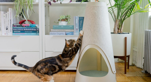 WISKI Launches with Two Modern Cat Scratchers