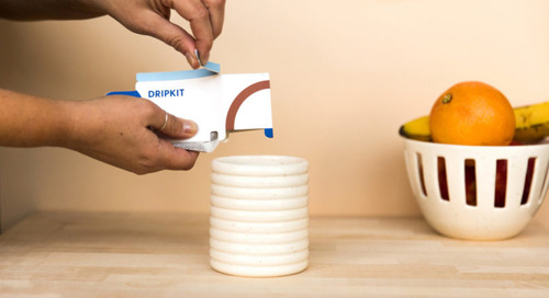 Enjoy Your Next Third Wave, Pour-Over Coffee with Dripkit