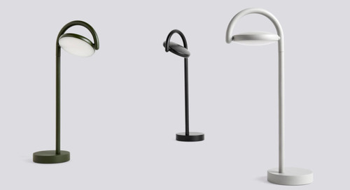 Kaschkasch Collaborates with HAY on the Marselis Floor and Table Lamp