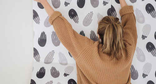 Fresh From The Dairy: Society6 Launches Modern Wallpaper