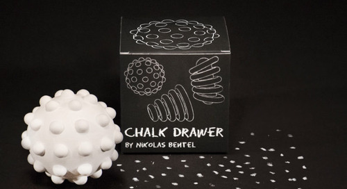 Nikolas Bentel Reimagines How We Draw with Chalk Drawers