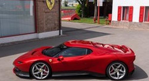 One of a Kind Ferrari SP38 Unveiled at 2018 Concorso d'Eleganza Villa d'Este