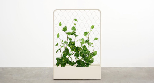 Adam Goodrum Adds the Trace Planter to Outdoor Collection for Tait