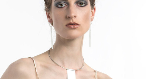 Minimalist Jewelry that Makes a Statement, Pops of Color + More on Adorn Milk