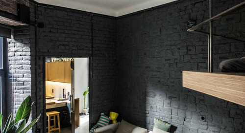 Little Flat Transformation in Lviv by replus design bureau