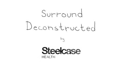 Steelcase Health Deconstructs Surround: A Flexible Seating System for Hospital Guests