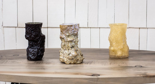 Excavated Vessels by Jeff Martin Joinery