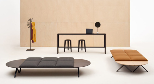 Kiik Modular Seating Collection by Iwasaki Design Studio for Arper