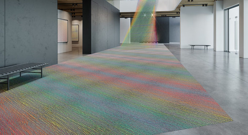 The Moiré Collection by Gabriel Dawe & Mannington Makes Its Debut at NeoCon