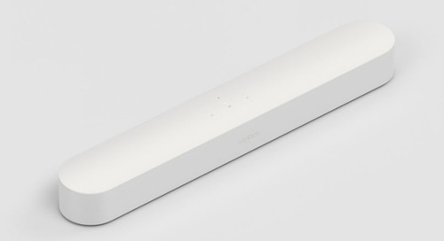 The Sonos Beam is a Smaller and Smarter Soundbar