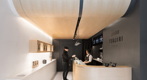 Tsujiri Japanese Tea Bar in London by MIMStudios