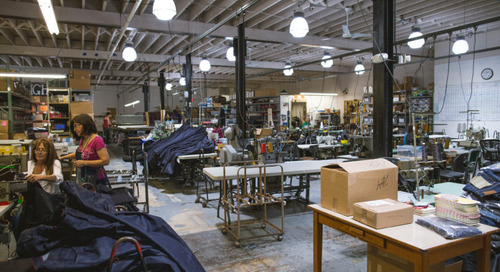Where I Work: Sarah Yarborough of Raleigh Denim Workshop