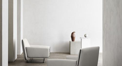 Fresh Egg Pasta Inspired Damian Williamson's Ovo Chair for Erik Jørgensen
