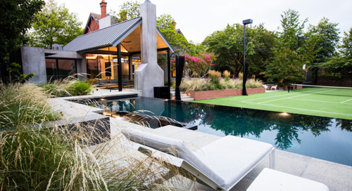 A Heritage Home Gets Modern Outdoor Entertaining Spaces and Gardens