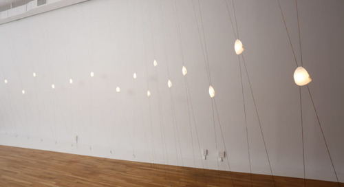 Lorre: A Sculptural Installation of 3D Printed Kinetic Lights by David Weeks Studio