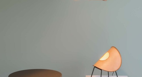 UNIQKA Launches Hand-Stitched Leather Lamps