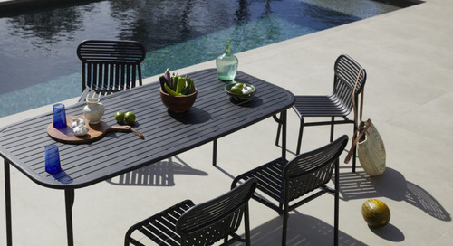 The Outdoor WEEK-END Collection by Studio BrichetZiegler for Petite Friture