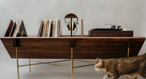 Sitskie Design Studio Launches New Fig Collection and a Credenza for Vinyl Lovers
