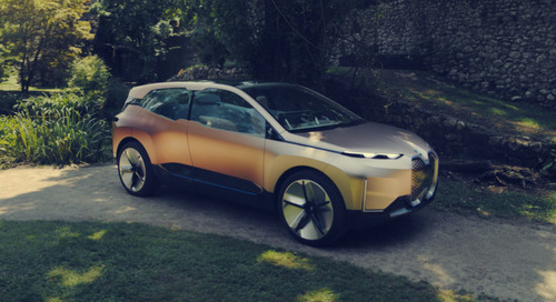 The BMW Vision iNext Concept Backseat