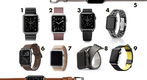 The Best Designer Bands for the Apple Watch Series 4