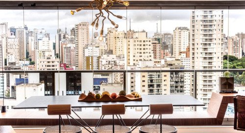 Rua 141 + Rafael Zalc Renovates Apartment RZ in São Paulo with an Upcycling Concept