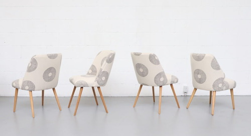 Block Shop Textiles and Amsterdam Modern Collaborate on a Limited Edition Collection of Mid-Century Furniture