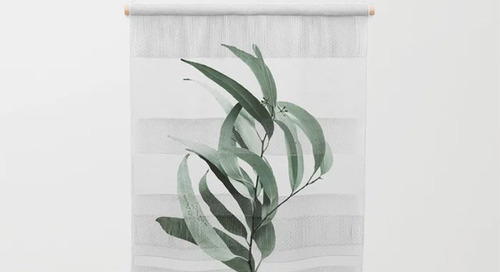 Fresh From The Diary: Green Wall Hangings